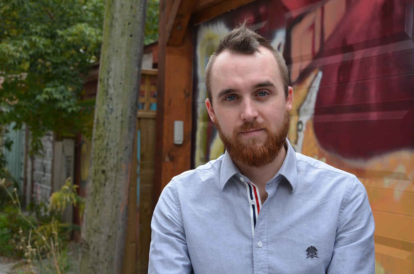 Toronto designer Jay Wall