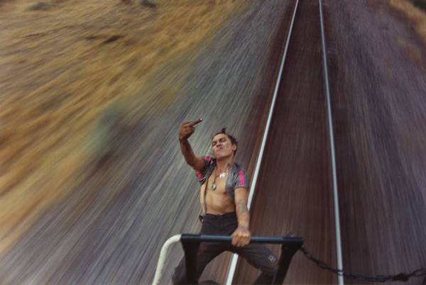 This 18-year-old hopped trains for 5 years and caught it all on camera