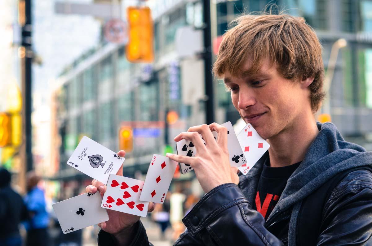 Life of a Street Magician_Plaid Zebra