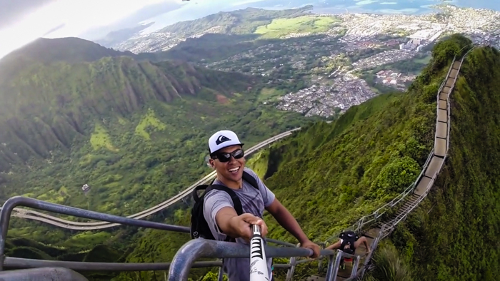 illegal Haiku Stairs