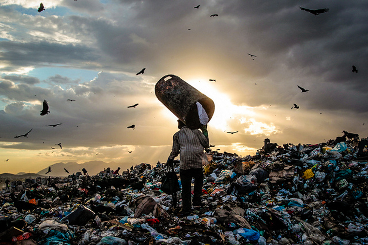 When the world's largest landfill closed, a city of ...