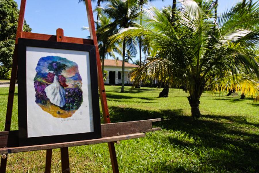 1_Brazilian Resort pays artist