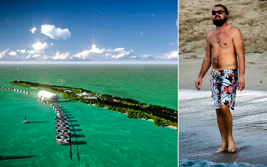 Leo Dicaprio Is Building An Eco Island To Conserve Belize