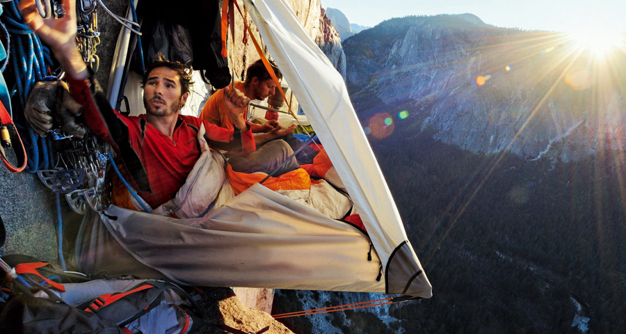 1_Extreme mountain camping