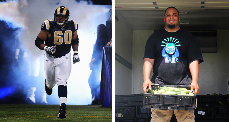 1_NFL Start buys farm and feeds hungry