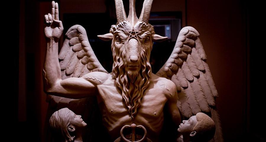 _satanic statue