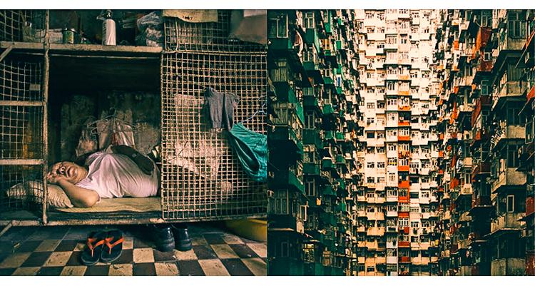 1_Hong Kong's cubicle homes