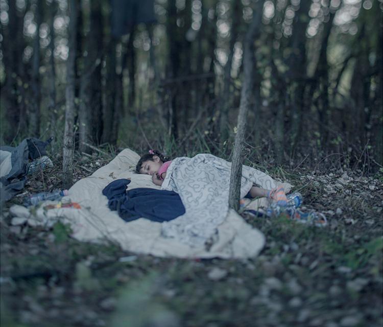 5_Where child refugees Sleep