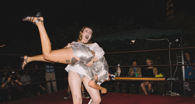 1_League of Lady Wrestlers