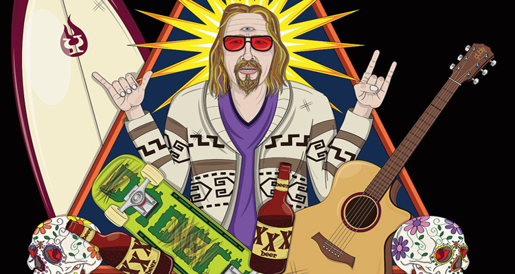 there�s an entire religion inspired by the dude from the
