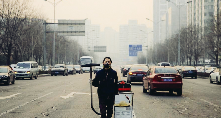 1_vacuumed Beijing's air for 100 days