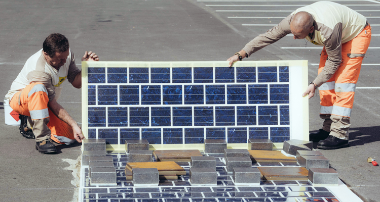 1_France is building a 621-mile solar panel roadway