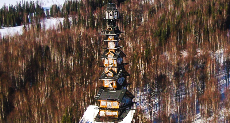 The Unusual Dr Seuss House That Overlooks North America