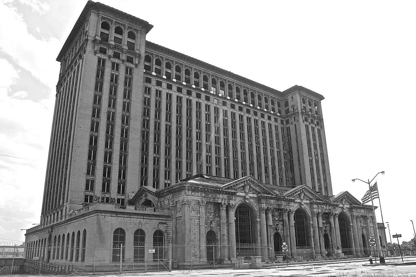 Photos of abandoned Detroit