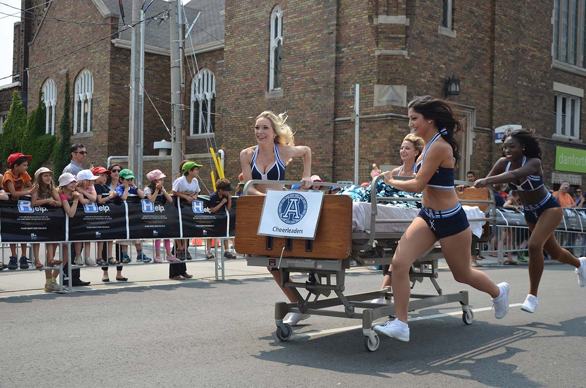 Danforth Dash Bed Race