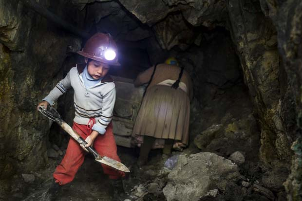 The Mountain That Eats Man The Child Miners Of Bolivia
