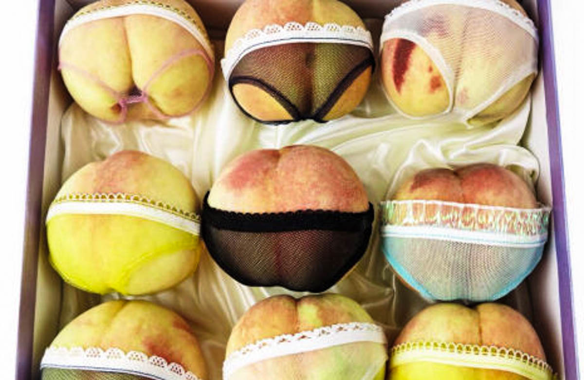 Peaches In Panties_Plaid Zebra