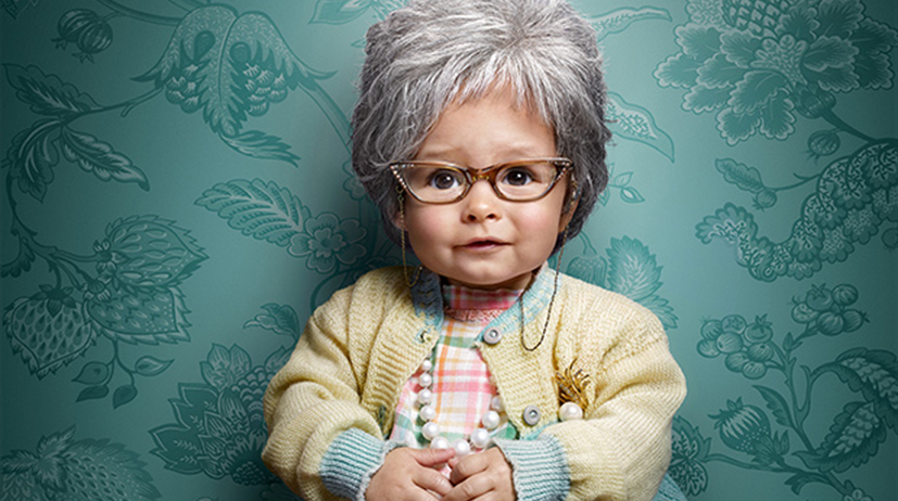 Alternate News_babies dressed as seniors