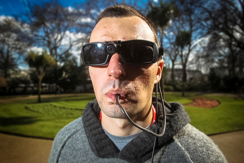 Tongue device helps blind solider