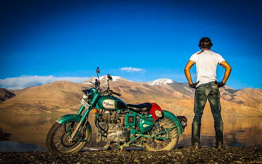 this man took a motorcycle journey from alaska to