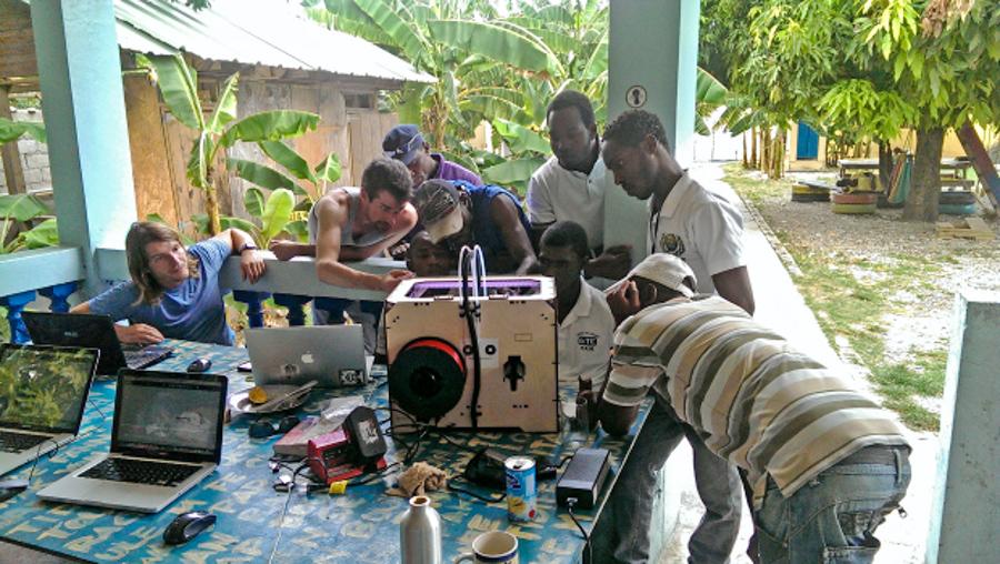 1_Solar-powered 3D Printer