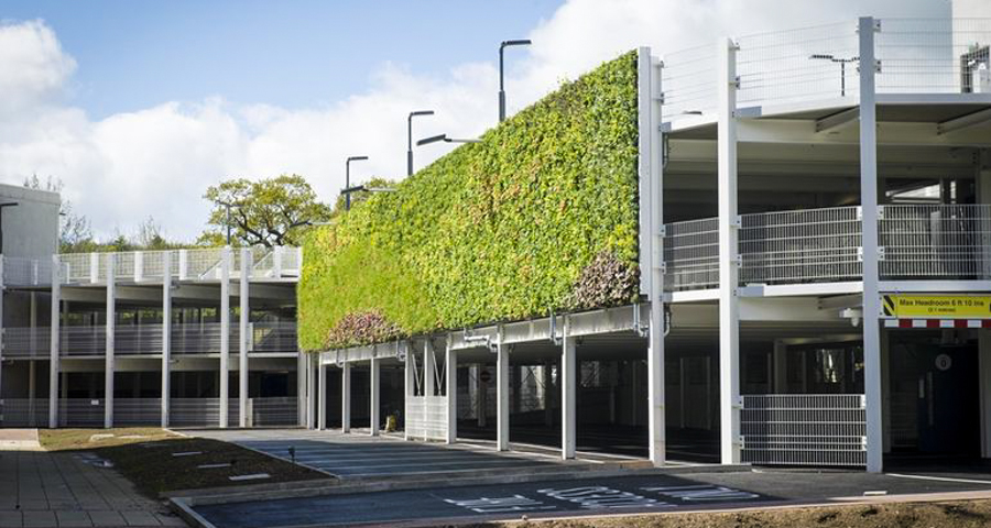 1_Europe's largest living wall