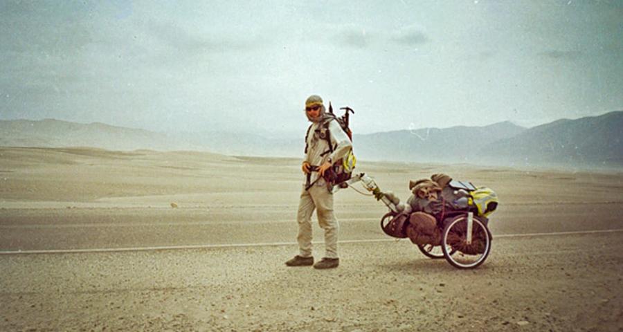 1_Man on longest walk