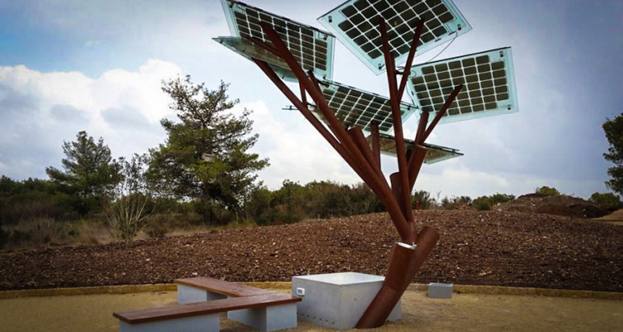 1_solar power tree