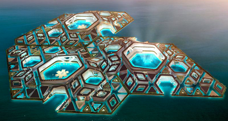1_floating ocean colony