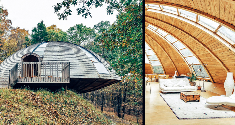1_spinning eco-home in the forest