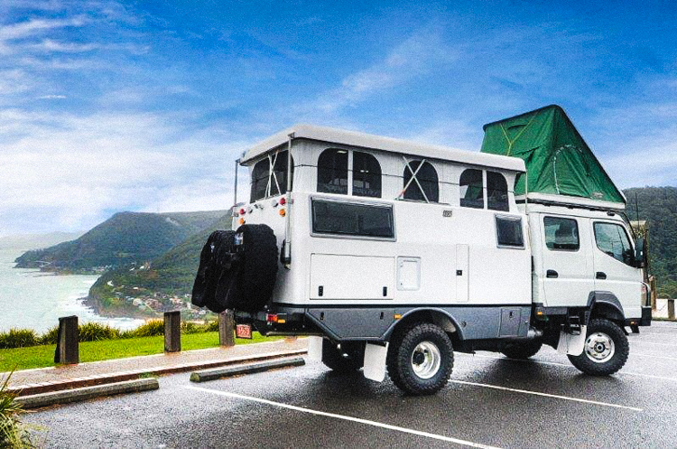 The Earth Cruiser Is Like A Rugged Eco Rv That Takes You