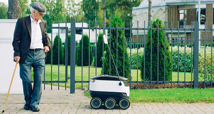 1_packages delivered by robots