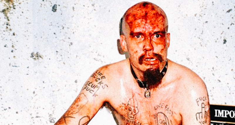 1_punk rocker threw shit on people