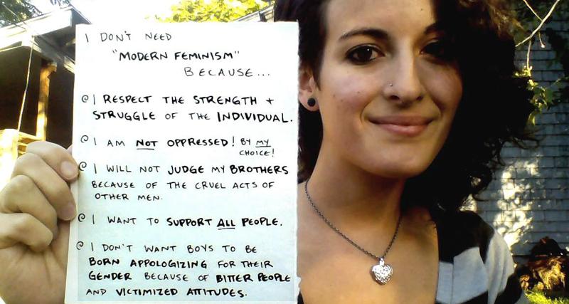 1_I don't need feminism