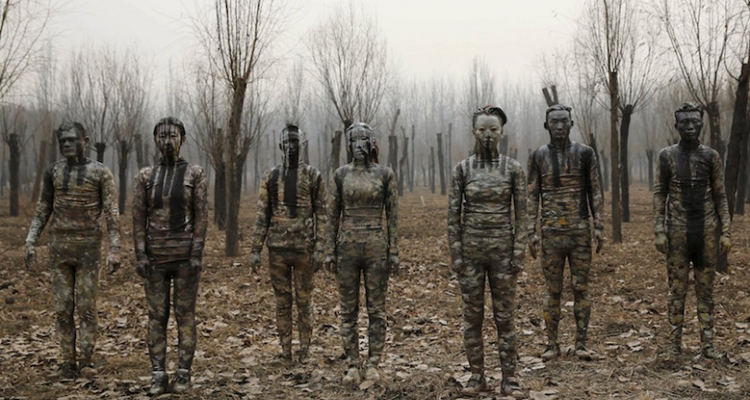 1_artist made people disappear China smog