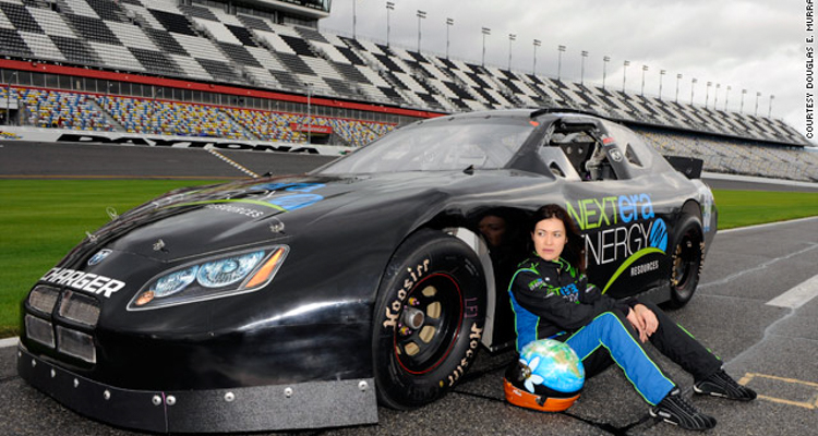 1_environmental activist female racecar driver