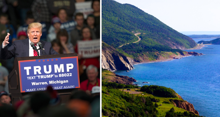 1_Canadian island is welcoming Trump Refugees