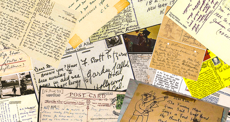 1_Postcards from famous writers