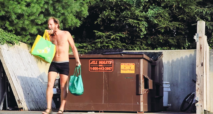How this man is using dumpster diving to save the world