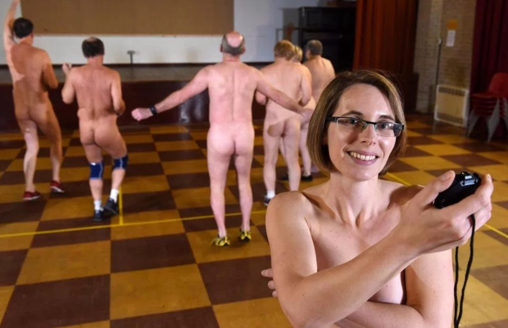 Englands Bizarre New Workout Trend Is Nude Exercise -6760
