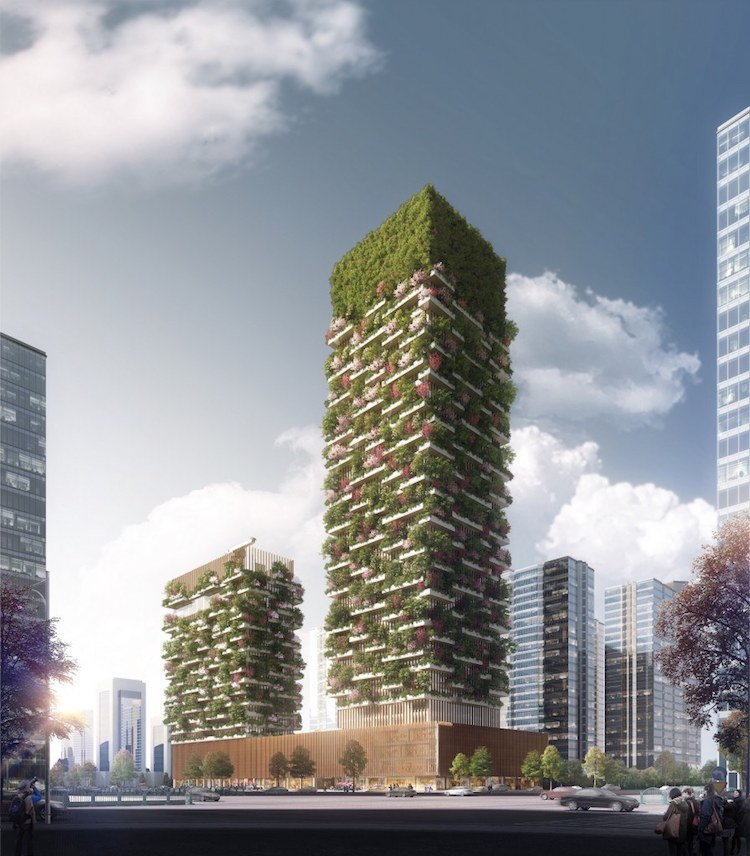 These Upcoming Vertical Forests In Nanjing Will Bring
