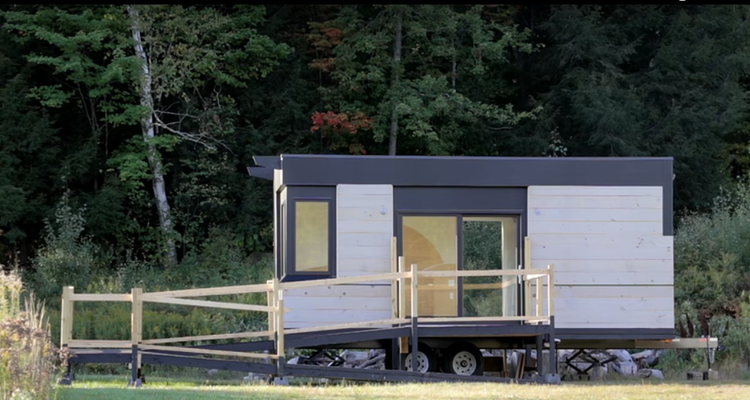 New Wheelchair Friendly Tiny House Gives Independence To