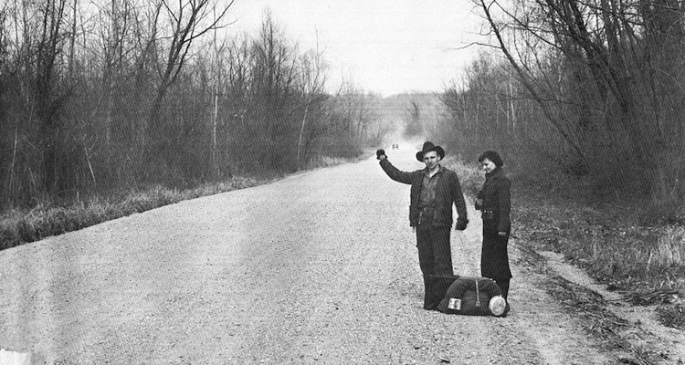 Hitchhiking meaning