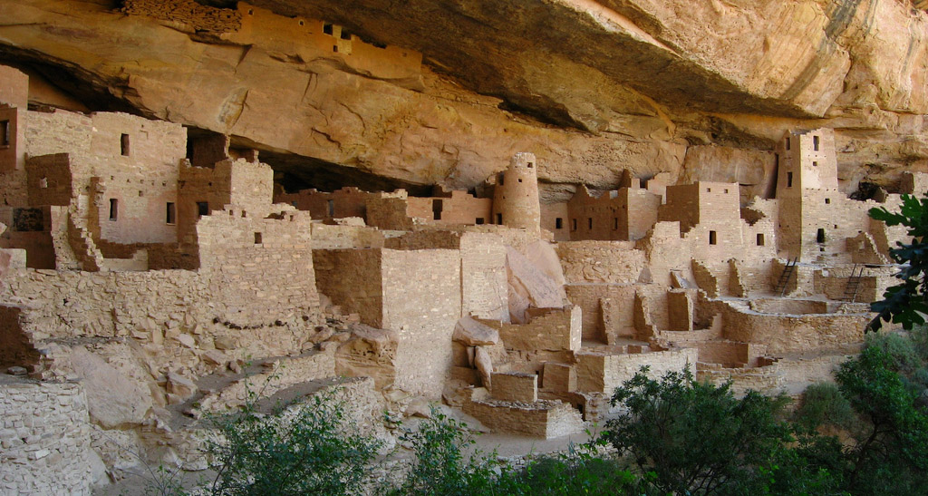 Pueblo Bonito was home to a prehistoric society