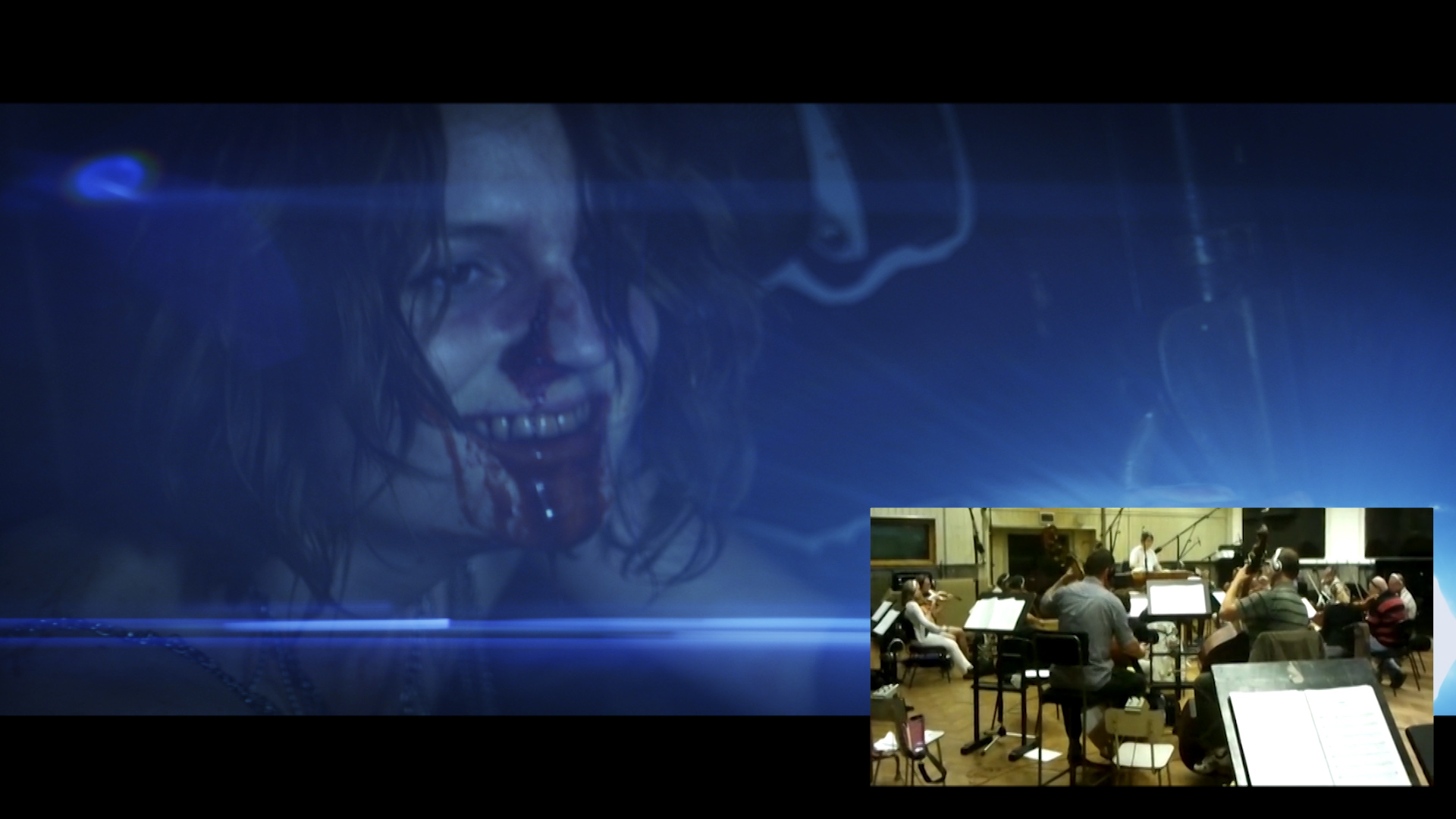 Adrian Ellis Scarehouse Score Video